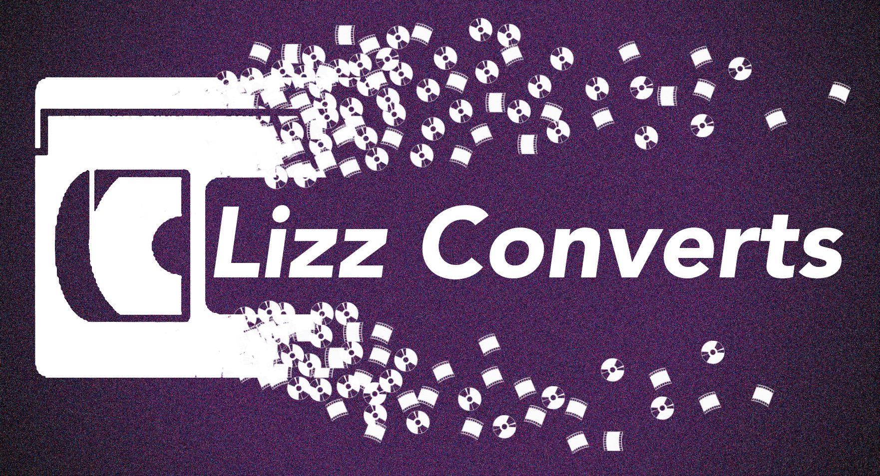 Lizz Converts Converting VHS, VHS-C, Mini-DV, 8mm/Hi-8 to DVD. Transferring Cassette Tapes to MP3. Digitising Super 8 & Regular 8 to DVD & USB. Digitising 35mm negatives & slides.